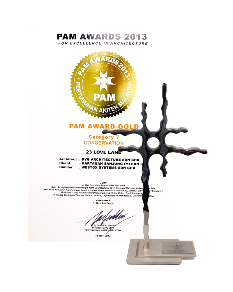 PAM Gold Award 2013