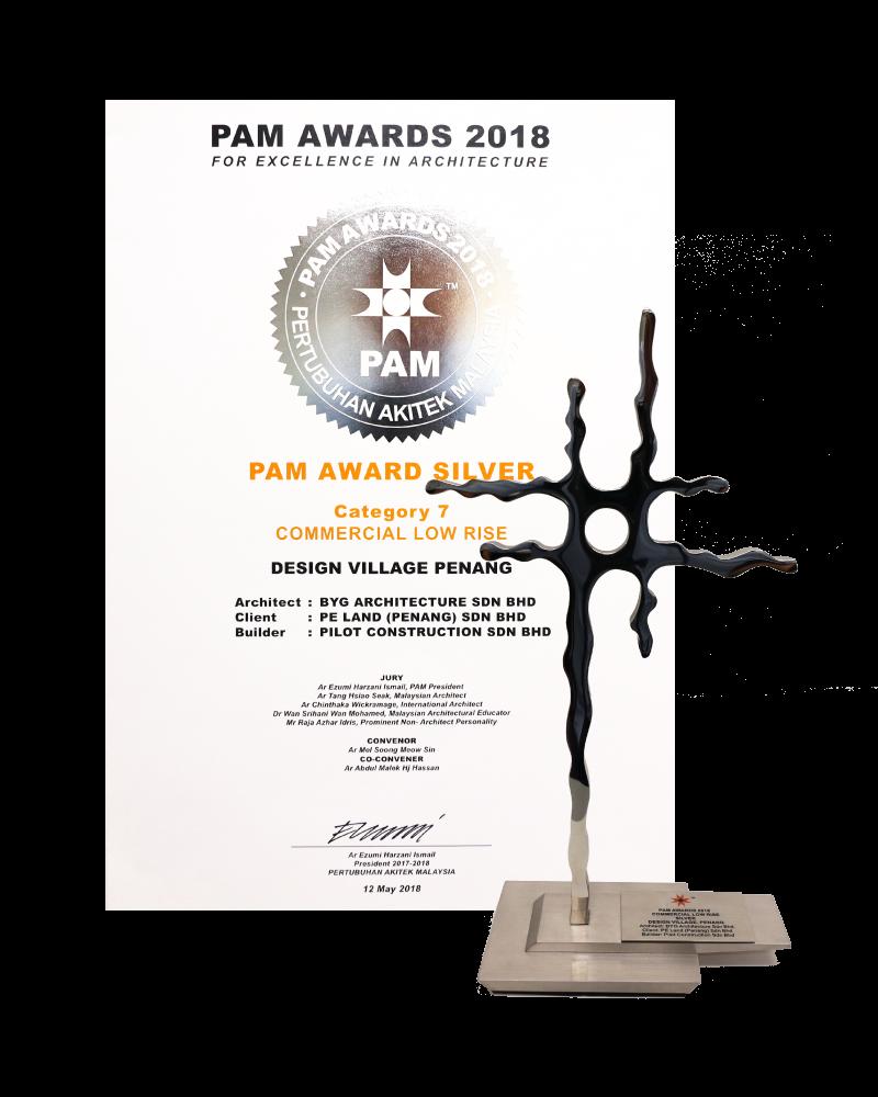 PAM Silver Award 2018